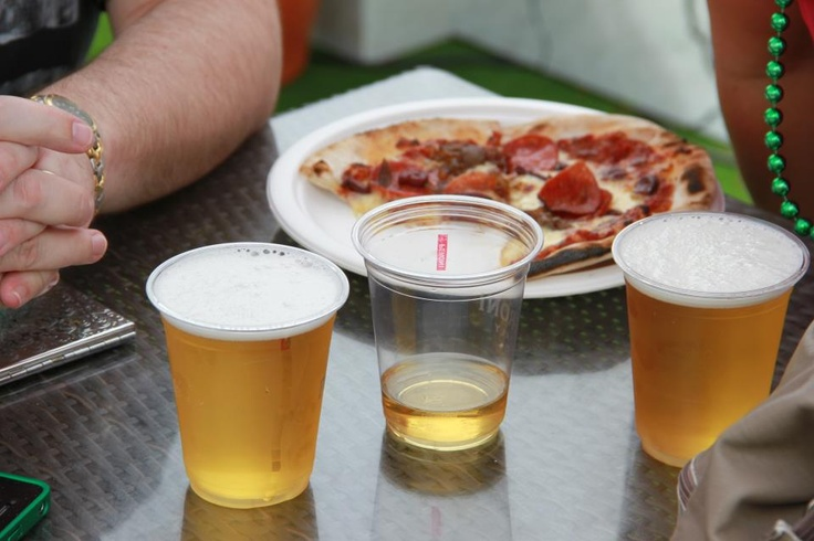 Pizza and Peroni...the perfect marriage
