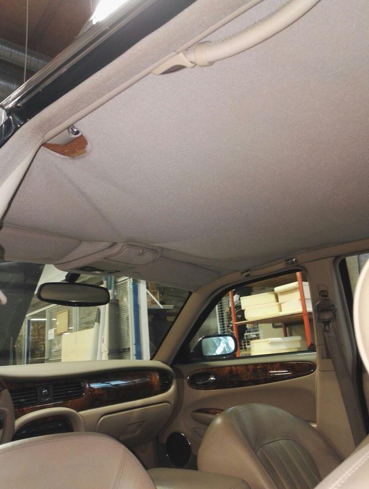 Jaguarin kattoverhoilu uusiksi