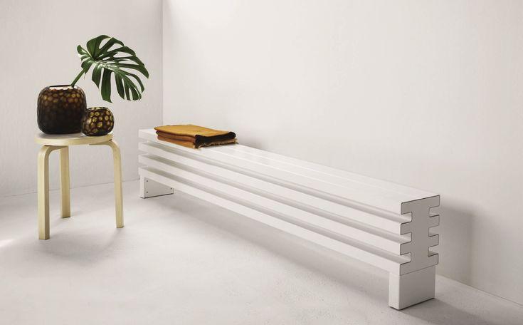 Horizontal wall-mounted radiator SOHO | Horizontal radiator - Tubes Radiatori