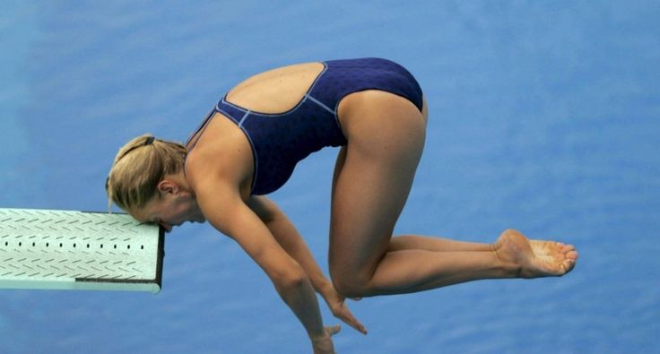 Diver Who Smacked Her Forehead Into Springboard