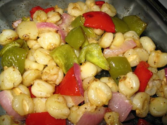 Roasted Peppers And Hominy Recipe - Food.com