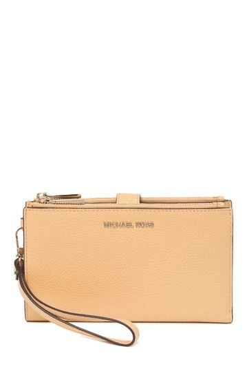 6892e5dd0a65 Double Zip Wristlet Leather Wallet by MICHAEL Michael Kors on  @nordstrom_rack