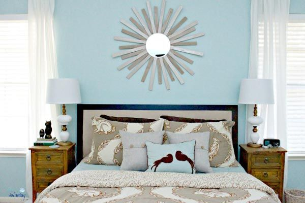 75 Brilliant Blue Bedroom Ideas And Photos Shutterfly Blue Bedroom Decor Blue Master Bedroom Home Decor Bedroom