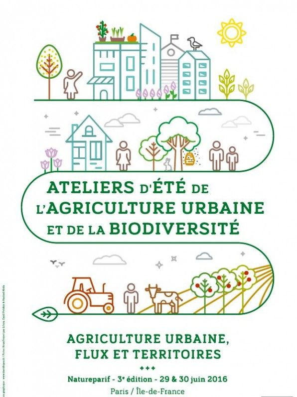 Ateliers d'été de l'#agriculture urbaine et de la #biodiversité, Natureparif - le portail dynamique de la nature et de la... http://www.pariscotejardin.fr/2016/06/ateliers-dete-de-lagriculture-urbaine-et-de-la-biodiversite/