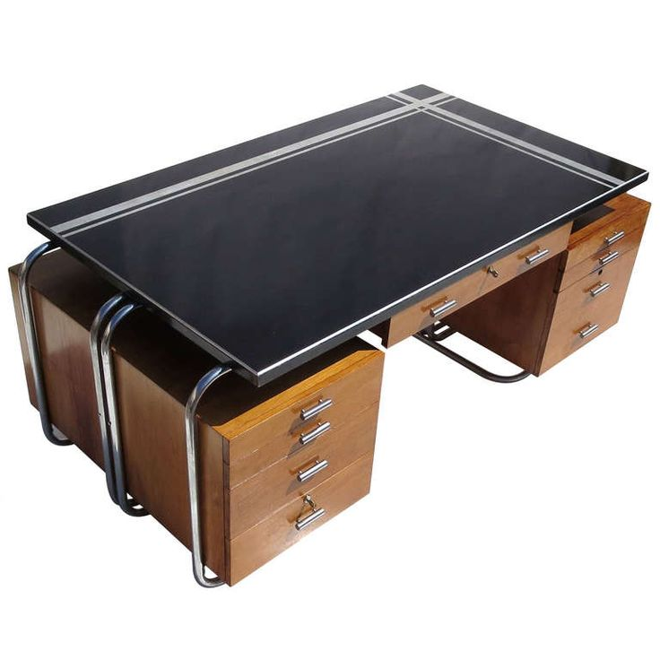Art Deco Desk From New York City Woolworth S