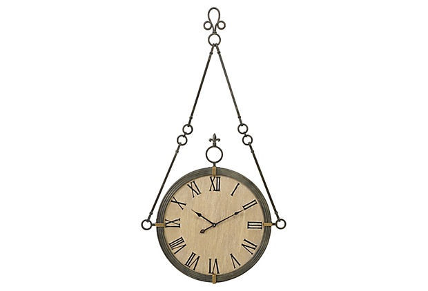 Alexander Wall Clock on OneKingsLane.com  I think this is really beaUtiful! Had to share it with you!!