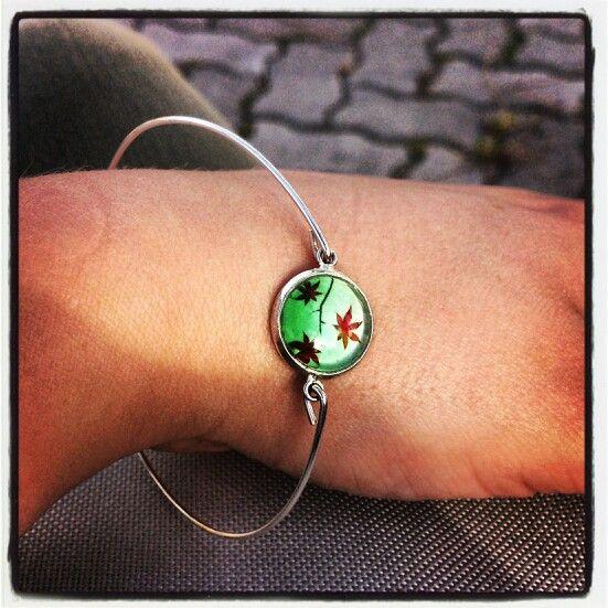 Leafs bracelet