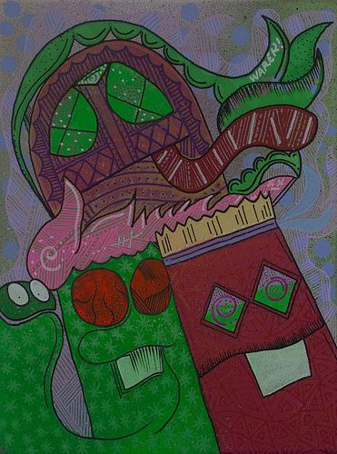 #friends #canvas #acrylic #chile #molotow #plots #epale #color #okes #graffiti #street