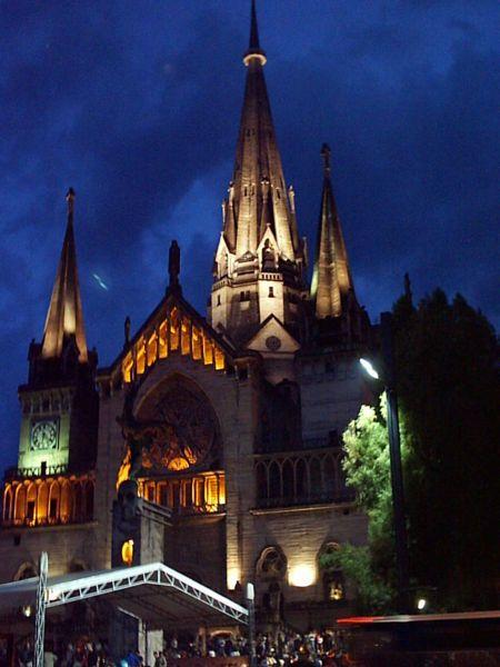 Manizales cathedral, Caldas department, Colombia.