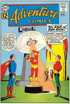 The Legion of Super Bloggers! : TOS: Adventure Comics # 302 Point-Counterpoint