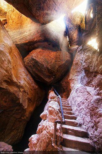 Bear Gulch Cave, Pinnacles National Monument, California (by Christopher Chan)