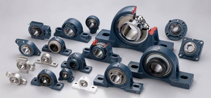 https://www.tradebearings.com/pillow-block-bearings-catalogue.html    A pillow block, also known as a plummer block[1] or bearing housing, is a pedestal used to provide support for a rotating shaft with the help of compatible bearings & various accessories. Housing material for a pillow block is typically made of cast iron or cast steel.