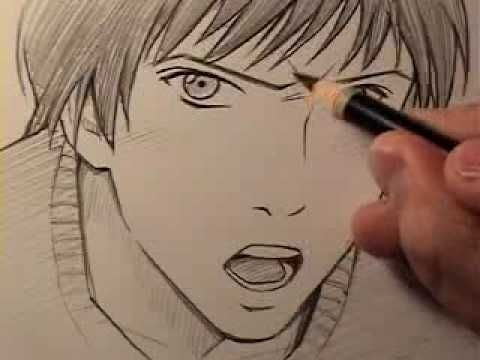 "How To Draw a ""Realistic"" Manga Face: Anger"