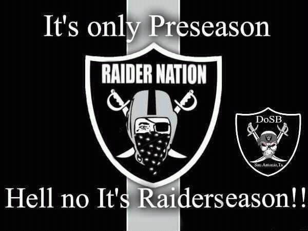 Raider preseason