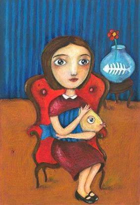la bambina e il pesce/Jsign Napoli