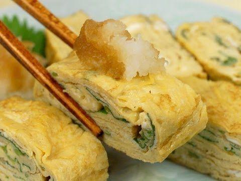 Tamagoyaki (Japanese omelette) 卵焼き - YouTube