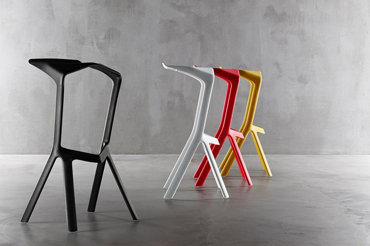 Miura, bar stool by Konstantin Grcic - The Method Case