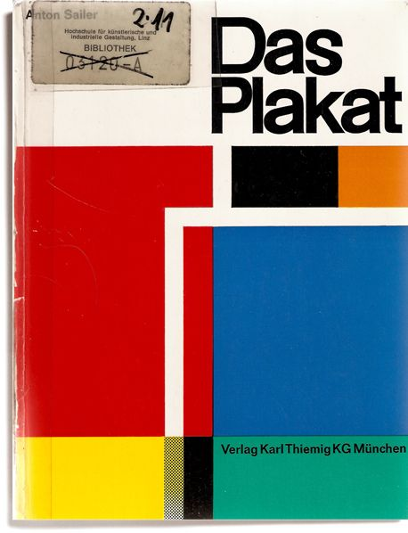 Das Plakat by Counter-Print