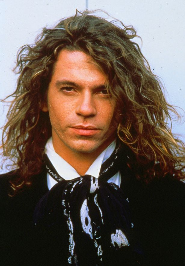 Tragic star: Michael Hutchence was found hanged on a door at a Sydney hotel