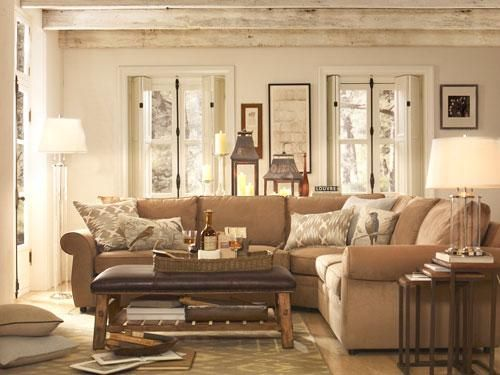 Luxury Pottery Barn Living Rooms