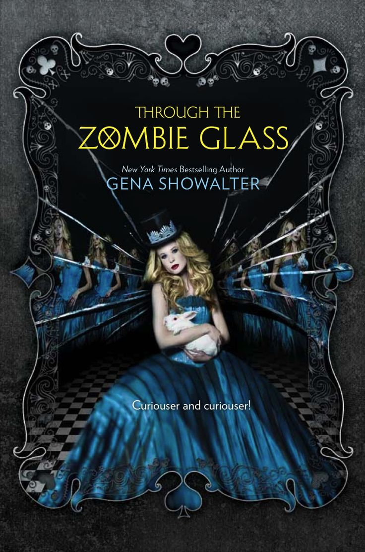 The Cover For Through The Zombie Glass, The 2nd Book In The White Rabbit  Chronicles