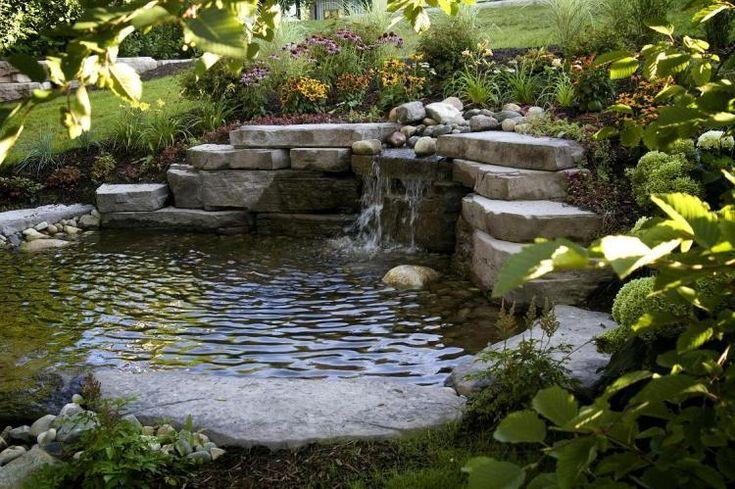 1000 id es sur le th me cascade pour bassin sur pinterest - Cascade d eau de jardin ...