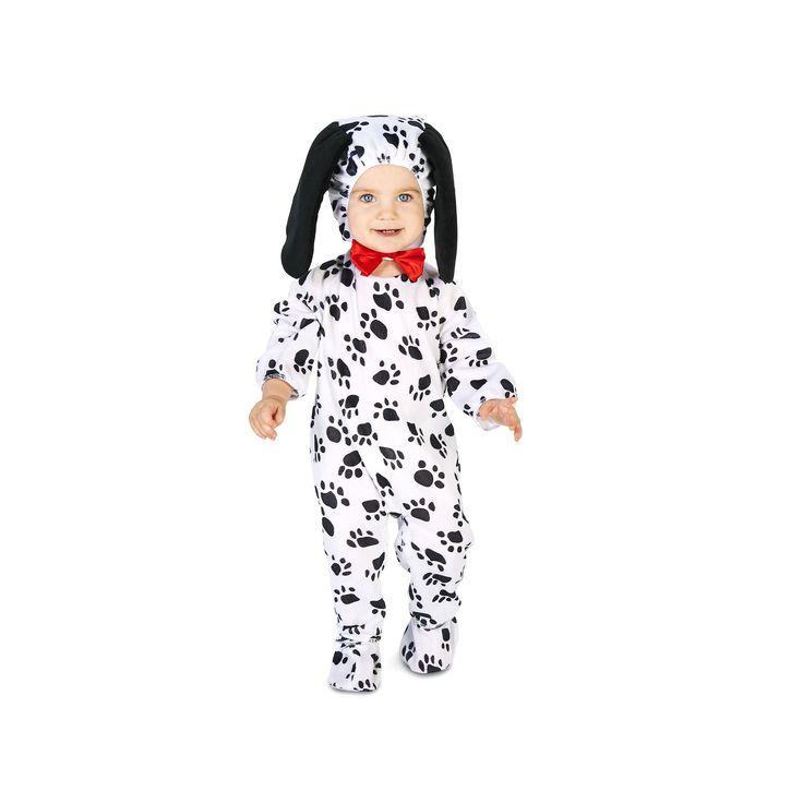 Baby Dotty Dalmatian Dog Costume, Infant Unisex, Size: 12-18MONTH, Multicolor