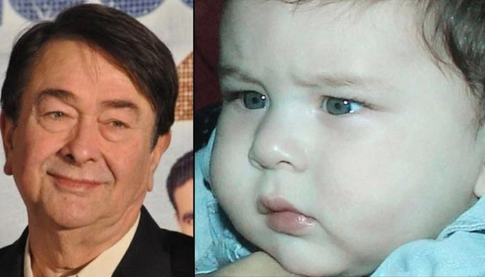 Randhir Kapoor Shares How Taimur Is As A Child - Naughty Or Cranky?