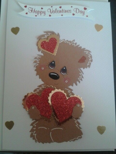 Lovely valentines day card