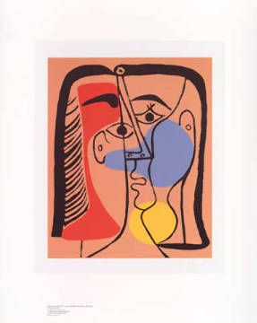 Pablo Picasso - Großer Kopf -  order now at low prices!