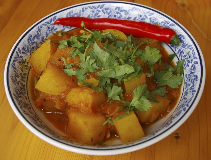 Potato and Onion Bhaji