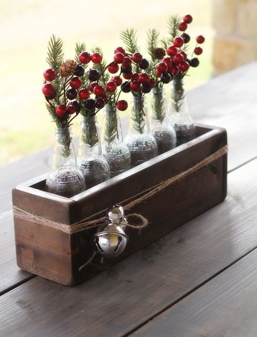50 Awesome Christmas Wedding Centerpieces – Edible And Not Only | Weddingomania