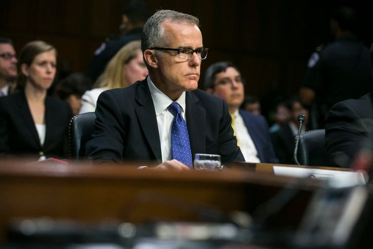 Mr. McCabe's retirement had been expected, but Monday's departure was abrupt and unannounced. Republicans have accused Mr. McCabe of being loyal to Hillary Clinton.