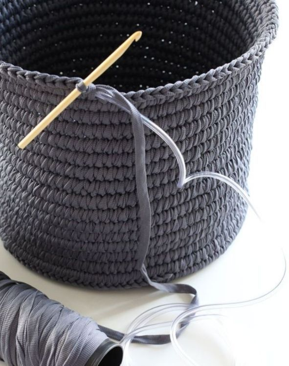 Anybody who has crocheted at all knows that the end product is generally soft and pliable. If you are making a sweater, a hat, a scarf or an afghan, that is exactly what you are going for; but if you want an end product that is able to hold a rigid..
