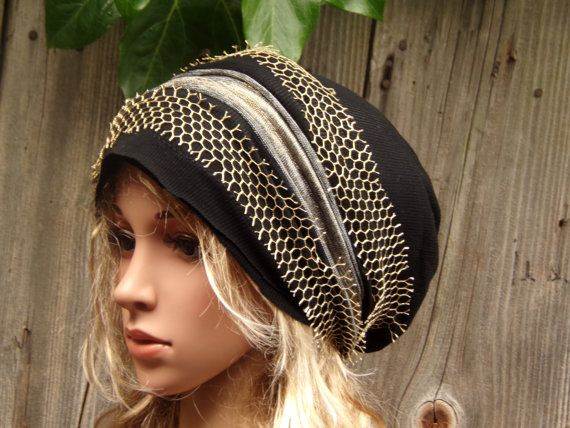 BLACK LADIES Women Slouchy Hat Autumn Summer Fashion by PepiZ