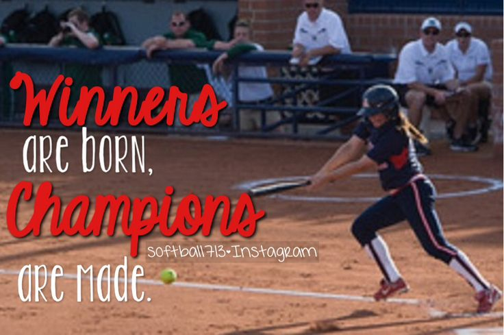 17 Best Images About Softball Quotes ♡ On Pinterest