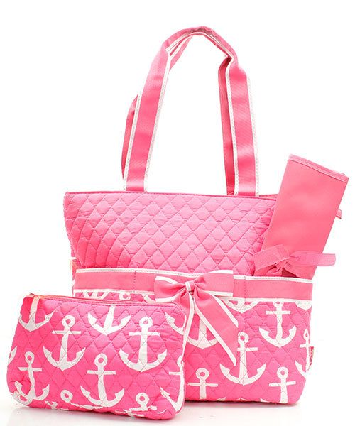 Hey, I found this really awesome Etsy listing at https://www.etsy.com/listing/191931014/pink-girls-nautical-with-anchor-quilted