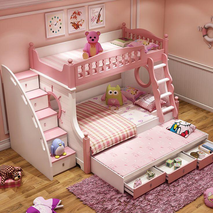 Кроватки для девочек двухъярусные самые классные показать картинки
