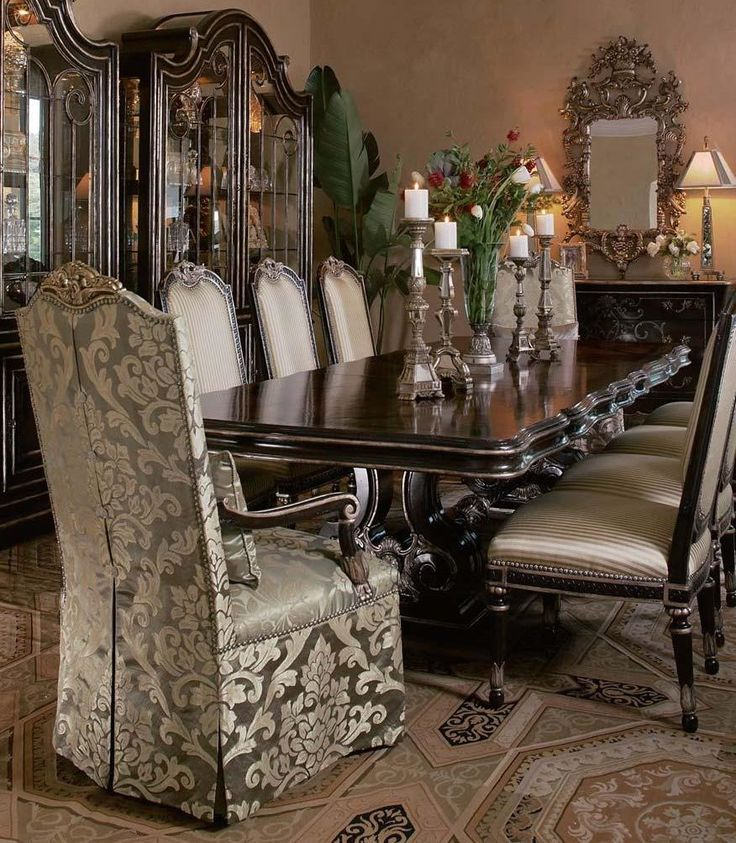 472 Best Table And Chairs.... Images On Pinterest | Luxury Dining Room,  Table And Chairs And Dining Chairs