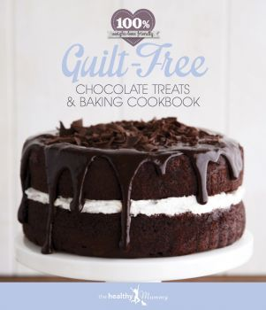 GUILT FREE CHOCOLATE TREATS AND BAKING HARD COVER RECIPE BOOK