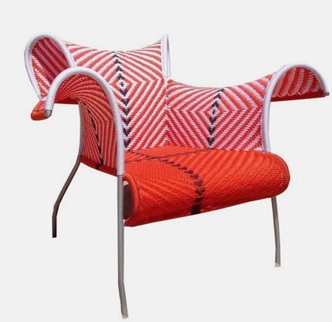 Ibiscus Outdoor Armchair by Moroso via trendir: Exuberant!