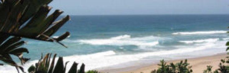 View of the beach, Sodwana Bay