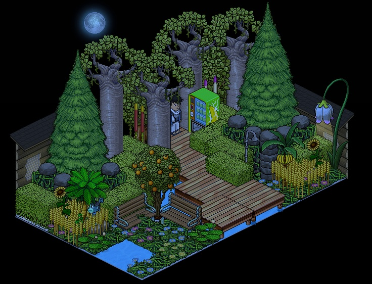 Cool Room Cool Habbo Rooms Pinterest Cool Rooms