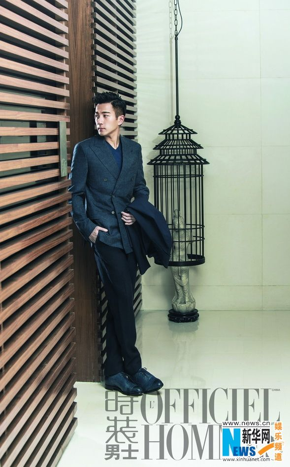 Chinese actor Hawick Lau http://www.chinaentertainmentnews.com/2015/04/hawick-lau-covers-lofficiel-magazine.html
