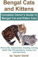 Bengal Cats and Kittens: Complete Owner's Guide to Bengal Cat and Kitten Care: Personality, temperament, breeding, training, health, diet, life expectancy, buying, cost, and more facts and like OMG! get some yourself some pawtastic adorable cat apparel!