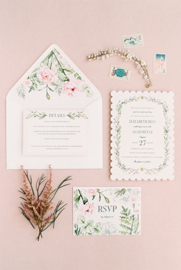 It's the month of love and these wedding invitations have love written all over them! http://www.stylemepretty.com/2017/02/07/24-romantic-invitations-that-will-win-over-your-heart/ Photography: Michelle Lange #ad