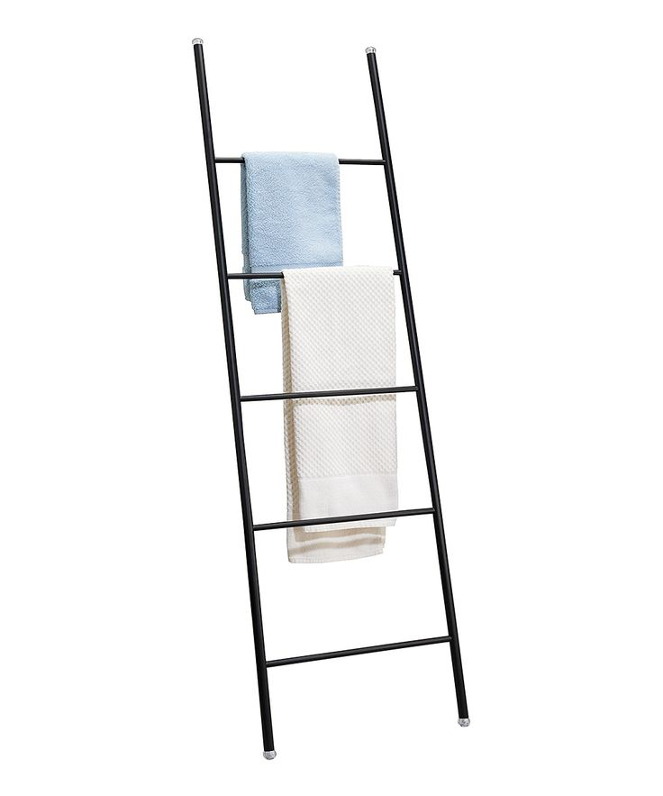 25 Best Ideas About Ladder Towel Racks On Pinterest