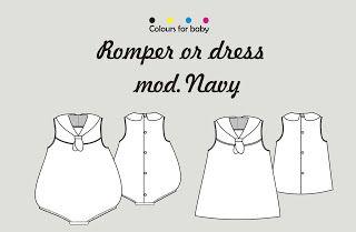 Cose conmigo una ranita o vestido marinero | Handbox Craft Lovers | Comunidad…