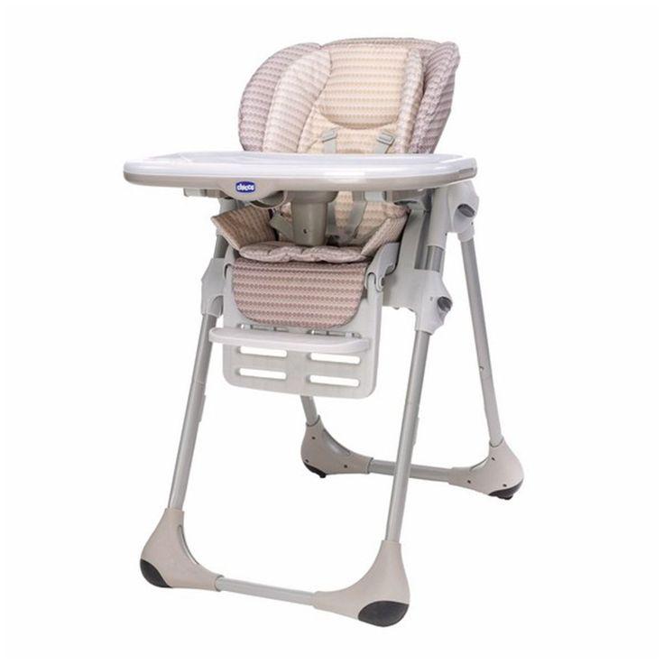 Chicco Polly Çift Kılıflı Mama Sandalyesi Dune