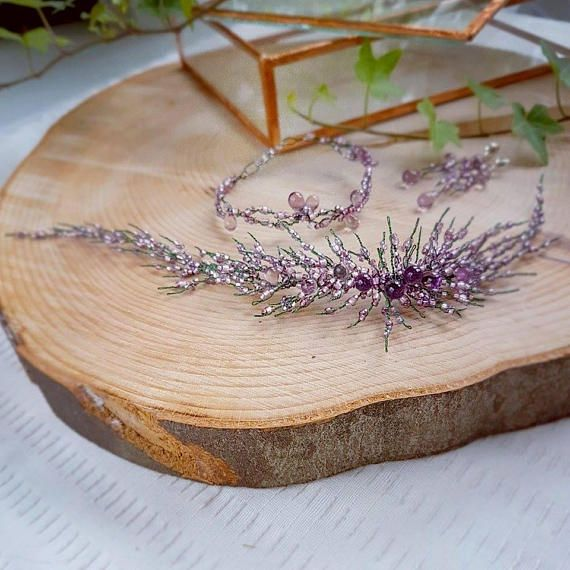 Check out this item in my Etsy shop https://www.etsy.com/listing/535405052/heather-bridal-jewellery-set-heather
